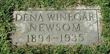 WINEGAR NEWSOM, DENA - Gallia County, Ohio | DENA WINEGAR NEWSOM - Ohio Gravestone Photos