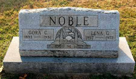 NOBLE, LENA - Gallia County, Ohio | LENA NOBLE - Ohio Gravestone Photos