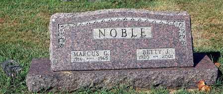 NOBLE, MARCUS - Gallia County, Ohio   MARCUS NOBLE - Ohio Gravestone Photos