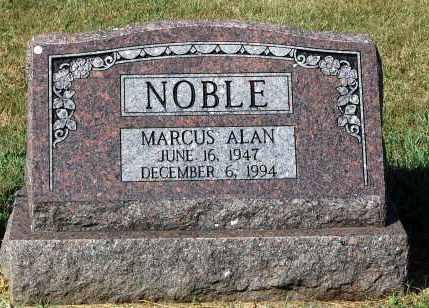 NOBLE, MARCUS A. - Gallia County, Ohio   MARCUS A. NOBLE - Ohio Gravestone Photos