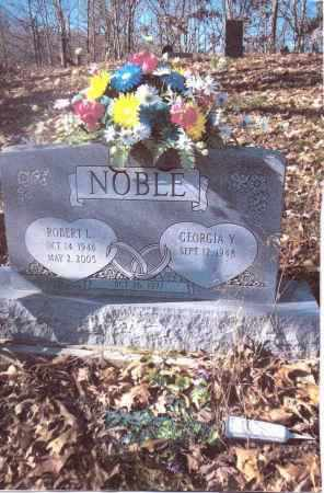 NOBLE, ROBERT L. - Gallia County, Ohio | ROBERT L. NOBLE - Ohio Gravestone Photos