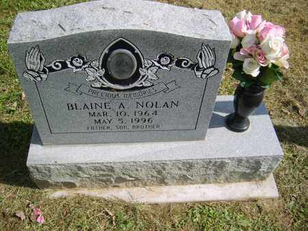 NOLAN, BLAINE - Gallia County, Ohio | BLAINE NOLAN - Ohio Gravestone Photos