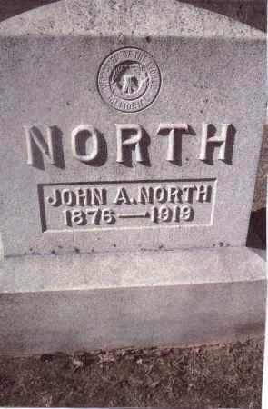 NORTH, JOHN A. - Gallia County, Ohio   JOHN A. NORTH - Ohio Gravestone Photos