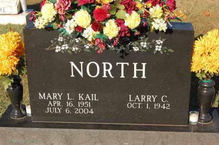NORTH, MARY L. - Gallia County, Ohio | MARY L. NORTH - Ohio Gravestone Photos