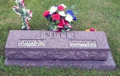 NULL, HOMER O. - Gallia County, Ohio   HOMER O. NULL - Ohio Gravestone Photos