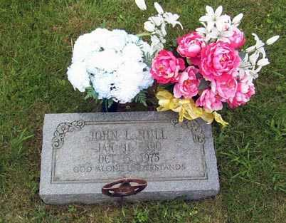 NULL, JOHN L. - Gallia County, Ohio   JOHN L. NULL - Ohio Gravestone Photos