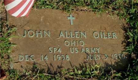 OILER, JOHN ALLEN - Gallia County, Ohio | JOHN ALLEN OILER - Ohio Gravestone Photos