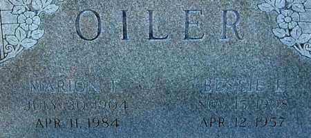 OILER, MARION F (CLOSE-UP) - Gallia County, Ohio | MARION F (CLOSE-UP) OILER - Ohio Gravestone Photos
