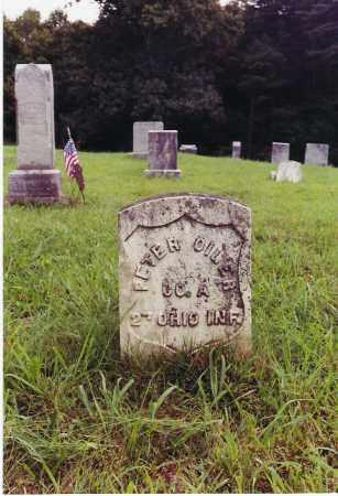 OILER, PETER - Gallia County, Ohio | PETER OILER - Ohio Gravestone Photos