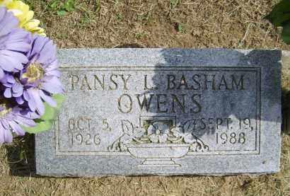 BASHAM OWENS, PANSY - Gallia County, Ohio | PANSY BASHAM OWENS - Ohio Gravestone Photos