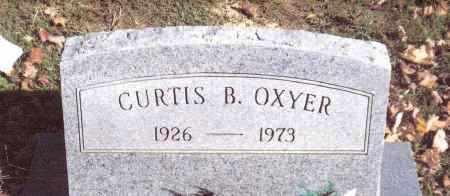 OXYER, CURTIS B. - Gallia County, Ohio | CURTIS B. OXYER - Ohio Gravestone Photos