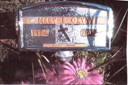OXYER, MARY L. - Gallia County, Ohio | MARY L. OXYER - Ohio Gravestone Photos