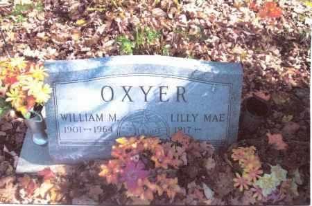 WHEATON OXYER, LILLY MAE - Gallia County, Ohio   LILLY MAE WHEATON OXYER - Ohio Gravestone Photos