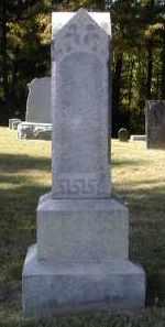 PARKER, D. - Gallia County, Ohio   D. PARKER - Ohio Gravestone Photos