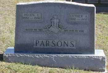 PARSONS, LUTHER - Gallia County, Ohio | LUTHER PARSONS - Ohio Gravestone Photos