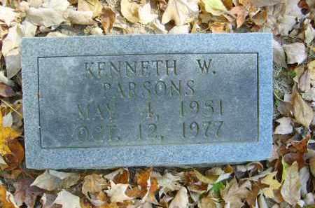 PARSONS, KENNETH - Gallia County, Ohio | KENNETH PARSONS - Ohio Gravestone Photos