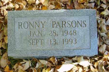 PARSONS, RONNY - Gallia County, Ohio   RONNY PARSONS - Ohio Gravestone Photos