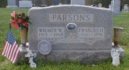BAIRD PARSONS, FRANCES - Gallia County, Ohio | FRANCES BAIRD PARSONS - Ohio Gravestone Photos