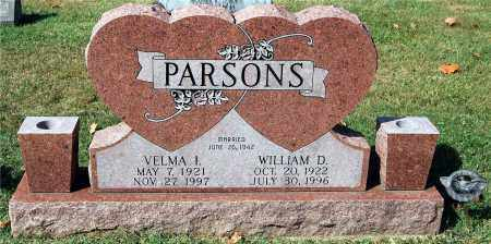 PARSONS, VELMA - Gallia County, Ohio | VELMA PARSONS - Ohio Gravestone Photos