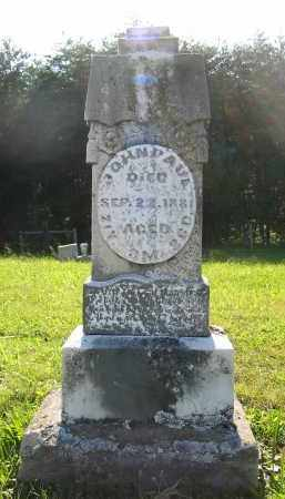 PAUL, JOHN - Gallia County, Ohio | JOHN PAUL - Ohio Gravestone Photos