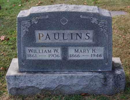 PAULINS, MARY K - Gallia County, Ohio | MARY K PAULINS - Ohio Gravestone Photos
