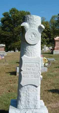 PAYNE, SAMUEL A - Gallia County, Ohio   SAMUEL A PAYNE - Ohio Gravestone Photos