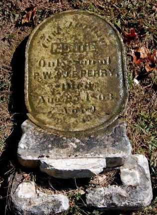 PERRY, MONTIE - Gallia County, Ohio   MONTIE PERRY - Ohio Gravestone Photos