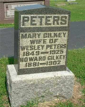GILKEY PETERS, MARY - Gallia County, Ohio | MARY GILKEY PETERS - Ohio Gravestone Photos