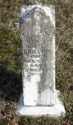 PHILLIP, E. FLORENCE - Gallia County, Ohio | E. FLORENCE PHILLIP - Ohio Gravestone Photos