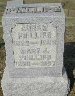 PHILLIPS, MARY J. - Gallia County, Ohio | MARY J. PHILLIPS - Ohio Gravestone Photos