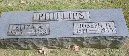 PHILLIPS, ELIZA - Gallia County, Ohio | ELIZA PHILLIPS - Ohio Gravestone Photos