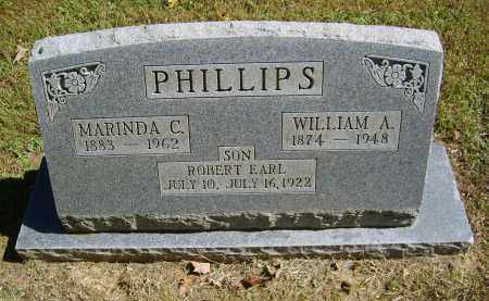 PHILLIPS, MARINDA - Gallia County, Ohio | MARINDA PHILLIPS - Ohio Gravestone Photos