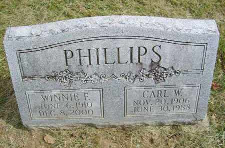 TOPPING PHILLIPS, WINNIE - Gallia County, Ohio | WINNIE TOPPING PHILLIPS - Ohio Gravestone Photos