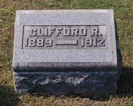 PIERCE, CLIFFORD R - Gallia County, Ohio | CLIFFORD R PIERCE - Ohio Gravestone Photos