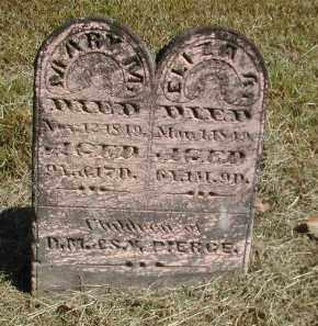 PIERCE, ELIZA - Gallia County, Ohio   ELIZA PIERCE - Ohio Gravestone Photos