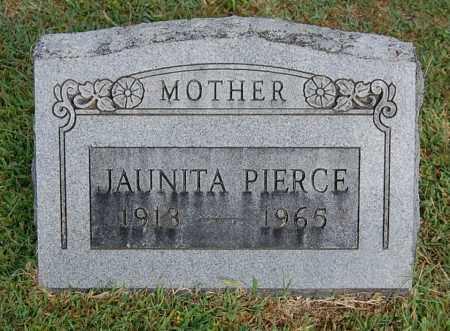 PIERCE, JAUNITA - Gallia County, Ohio | JAUNITA PIERCE - Ohio Gravestone Photos