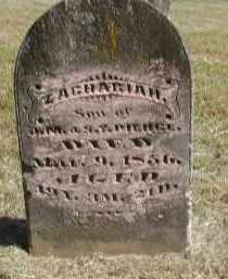 PIERCE, ZACHARIAH - Gallia County, Ohio | ZACHARIAH PIERCE - Ohio Gravestone Photos
