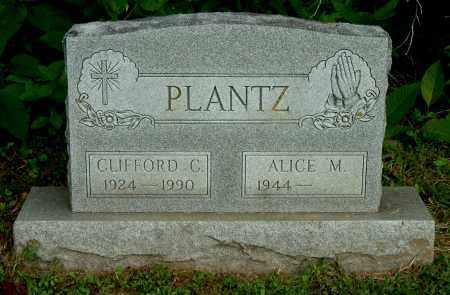 PLANTZ, CLIFFORD C - Gallia County, Ohio   CLIFFORD C PLANTZ - Ohio Gravestone Photos