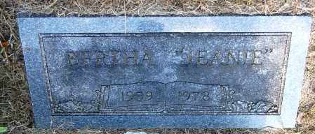 "POOLER, BERTHA ""JEANIE"" - Gallia County, Ohio | BERTHA ""JEANIE"" POOLER - Ohio Gravestone Photos"