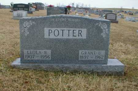 JENKINS POTTER, LEOLA - Gallia County, Ohio | LEOLA JENKINS POTTER - Ohio Gravestone Photos