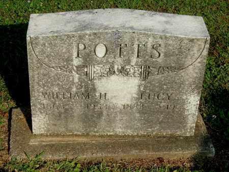 POTTS, WILLIAM H - Gallia County, Ohio   WILLIAM H POTTS - Ohio Gravestone Photos