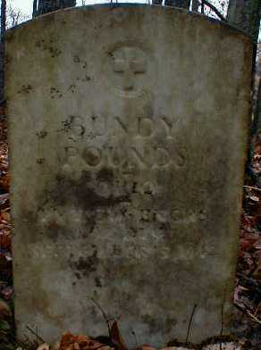 POUNDS, BUNDY - Gallia County, Ohio | BUNDY POUNDS - Ohio Gravestone Photos