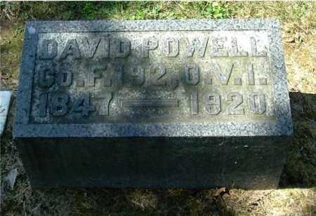 POWELL, DAVID - Gallia County, Ohio | DAVID POWELL - Ohio Gravestone Photos