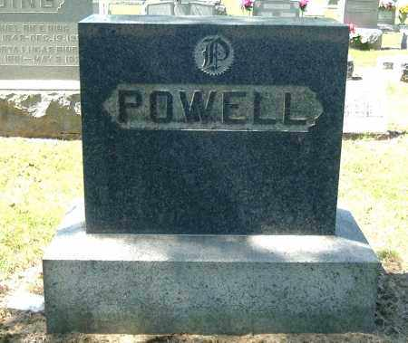 POWELL, FAMILY MONUMENT - Gallia County, Ohio | FAMILY MONUMENT POWELL - Ohio Gravestone Photos
