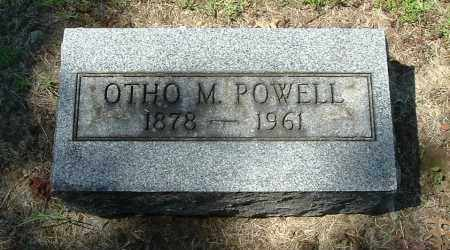 POWELL, OTHO M - Gallia County, Ohio | OTHO M POWELL - Ohio Gravestone Photos