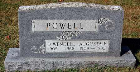 POWELL, AUGUSTA - Gallia County, Ohio | AUGUSTA POWELL - Ohio Gravestone Photos