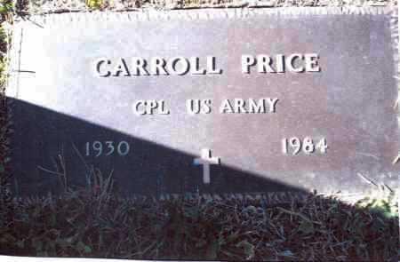 PRICE, CARROLL - Gallia County, Ohio | CARROLL PRICE - Ohio Gravestone Photos