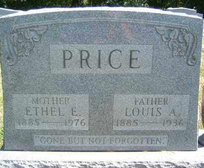 PRICE, LOUIS A. - Gallia County, Ohio | LOUIS A. PRICE - Ohio Gravestone Photos