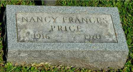 PRICE, NANCY FRANCES - Gallia County, Ohio | NANCY FRANCES PRICE - Ohio Gravestone Photos