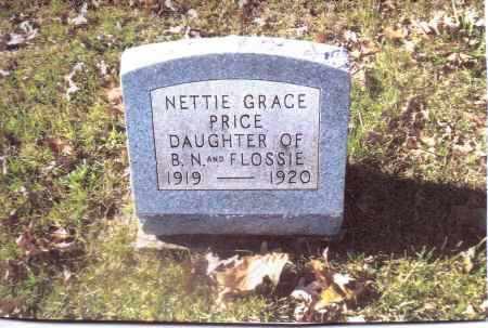 PRICE, NETTIE GRACE - Gallia County, Ohio | NETTIE GRACE PRICE - Ohio Gravestone Photos